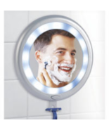 Fogless Shower Mirror with LED Lights - $39.99
