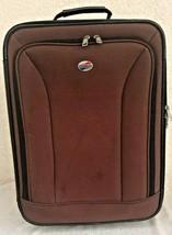 "Am Tourister Rolling Luggage Expandable Wheeled Suitcase 21""x 16""x 8"" - $39.59"