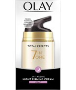 Olay Total Effects 7 In One Anti-Aging Night Firming Treatment, 50 Gm - $19.79