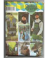 Simplicity 5747 Men's Handyman's Apron Tool Holder Hat + More Pattern - $15.99