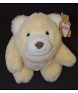 "Gund Pastel Yellow Plush Stuffed Snuffles Bear 9"" NEW  #2170 - $74.23"