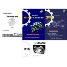 MV Agusta F4 Repair Service Repair Workshop & Parts Manual CD - $12.00