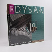 DYSAN MF-2HD Macintosh Formatted Diskettes Pack... - $9.67