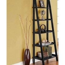 5 Tier Wooden Ladder Shelf Book Shelf Display Shelving Modern Furniture ... - $299.88