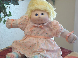 Cabbage Patch Doll Blonde Hair/Blue Eyes - $14.99