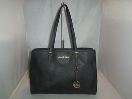 Michael Kors Handbag Jet Set E / W Travel Tote, Shoulder Bag, Purse $278  Black - $129.99