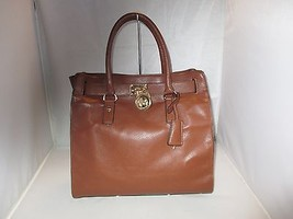 Michael Kors Handbag, Hamilton Tote Bag, Shoulder Bag, Purse, Satchel $358 Brown - $149.99
