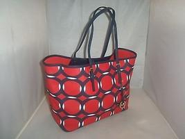 Michael Kors Handbag Jet Set Deco Medium Saffiano  Travel Tote Bag, Shopper $298 - $99.99