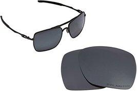 New SEEK Replacement Lenses Oakley DEVIATION - Polarized Black Iridium - $18.30