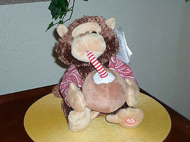 Animated Singing Plush Pina Colada Monkey - LN - $19.99