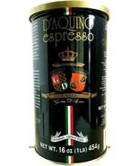 D'Aquino Espresso Ground Coffee ( Italian Espresso ) 16 oz ( Pack of 12 ) - $257.39
