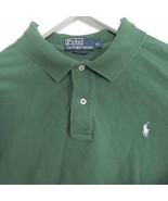 Ralph Lauren men's size EXTRA LARGE XL green polo shirt small pony logo - $19.99