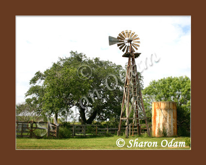 Primary image for Texas Country Wooden Windmill - WM0028C - Fine Art Photography