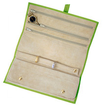 Royce Leather Suede Lined Jewelry Roll, Top Gra... - $86.99