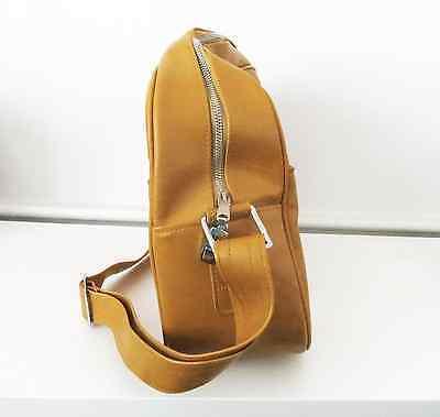 Vintage retro mustard yellow Samsonite Caribbea overnight travel bag luggage