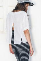 90s open back oversized polka dot blouse - $32.88