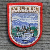 VELDEN am WORTHER SEE Vintage Ski Patch Travel CARINTHIA Skiing Austria - $14.46