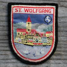 ST WOLFGANG Vintage Ski Patch Travel White Horse Inn Austria Salzkammergut - $13.50