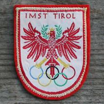 IMST TIROL Vintage Travel Patch AUSTRIA Felt Skiing Olympics Innsbruck - $16.40
