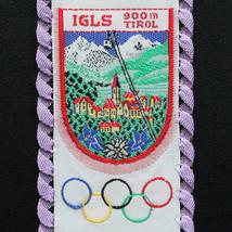 IGLS Vintage Ski Patch Bookmark AUSTRIA Travel OLYMPICS Skiing Hiking Al... - $9.70
