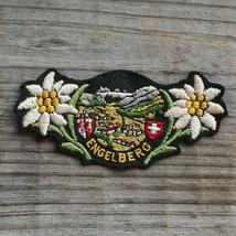 ENGELBERG Vintage Ski Patch SWITZERLAND Travel Skiing Hiking Titlis Trubsee - $14.46