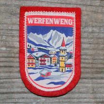 WERFENWENG Vintage Ski Patch AUSTRIA Travel ST JOHANN TIROL Skiing Kitzb... - $10.65