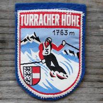 TURRACHER HOHE Vintage Ski Patch AUSTRIA Travel Skiing Hiking Carinthia - $24.14