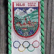 IGLS Vintage Ski Patch Bookmark AUSTRIA Travel OLYMPICS Skiing Hiking GR... - $9.70