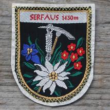 SERFAUS Vintage Travel Patch AUSTRIA Skiing Hiking Mountaineering Felt N... - $12.55