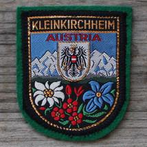 KLEINKIRCHHEIM Vintage Ski Patch AUSTRIA Travel CARINTHIA Skiing Bad Met... - $12.55