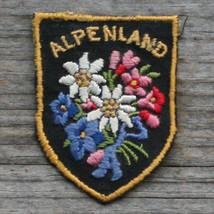 ALPENLAND Vintage Ski Patch AUSTRIA Travel TIROL Hiking Kitzbuhel St Joh... - $12.55