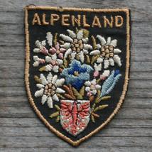 ALPENLAND Vintage Ski Patch AUSTRIA Travel TIROL Hiking Kitzbuhel St Johann - $19.30