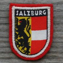 SALZBURG Vintage Travel Ski Mini Patch AUSTRIA Skiing Hiking Felt EX+ - $7.80