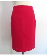 Etcetera size 2 hot pink 3D embroidery print knee length skirt career ev... - $59.99