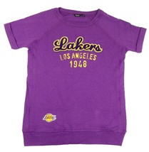 Women's Los Angeles Lakers Tunic Shirt NBA 4Her Long Length Basketball T-Shirt