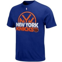Boy's New York Knicks Shirt Majestic Game Face NBA Basketball Tee