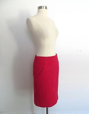 New Etcetera Poised Petit Fleur Ruched Pencil Skirt Size 2 Floral Fully Lined