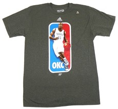 Kevin Durant Shirt Men's Logoman Shirt NBA Basketball Tee Oklahoma City Thunder