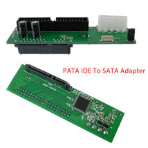 PATA IDE To Serial ATA Adapter Converter Card For 3.5 2.5 Inch SATA HDD ... - $6.50