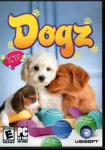 DOGZ - Your Computer Pet (PC-CD, 2006) for Windows 2000/XP - NEW in DVD BOX - $9.98