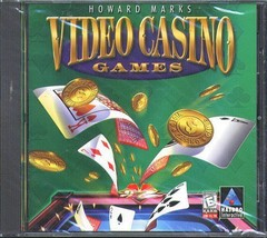 Howard Marks VIDEO CASINO GAMES CD-ROM for Windows - New in SLV - $11.98