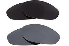 New Seek Optics Replacement Lenses Oakley Monster Dog   Black Silver - $23.25