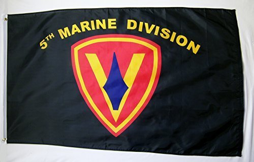 5th Marine Division Flag 3' X 5' Indoor Outdoor Military Banner