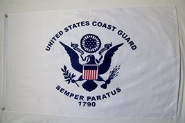 United States Coast Guard Flag 3' X 5' Indoor Outdoor Banner - $12.95