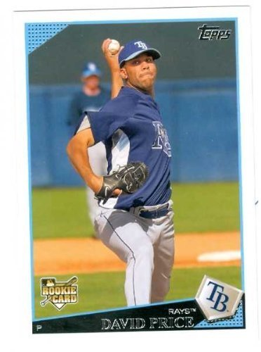 Primary image for David Price baseball card 2009 Topps #35 (Tampa Bay Rays) rookie card