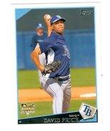David Price baseball card 2009 Topps #35 (Tampa Bay Rays) rookie card - $5.00
