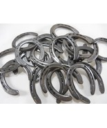 50 Pc Lot of NEW (old look) Cast Iron Horseshoes for Crafting - $120.53