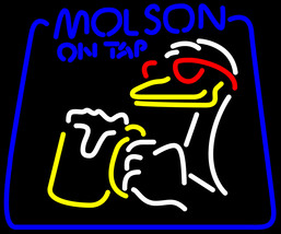 Molson On Tap Duck Neon Sign - $699.00