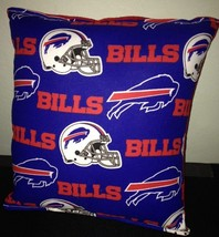 Bills Pillow NFL Pillow Buffalo Bills Pillow Football Pillow HANDMADE In... - $9.97