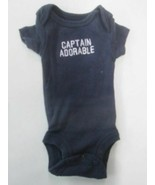 Carters Captain Adorable short sleeve romper SIZE PREEMIE - $2.92
